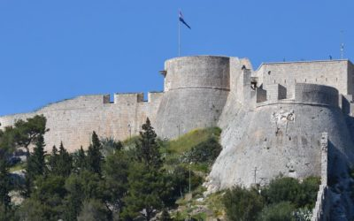 Fortress in Hvar city