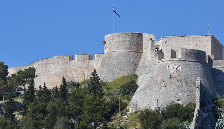 Fortress in Hvar city