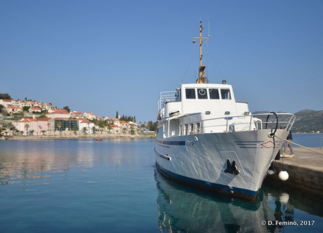 Ferry to Orebić (Korčula, Croatia, 2017)