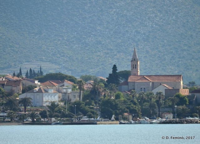 The town from the sea (Orebić, Croatia, 2008)