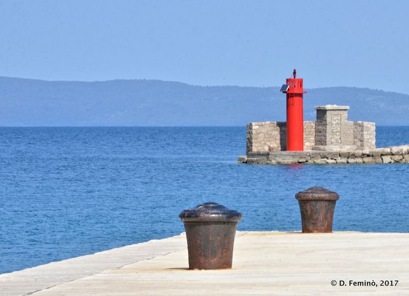 Dock and lighthouse (Trpanj, Croatia, 2008)