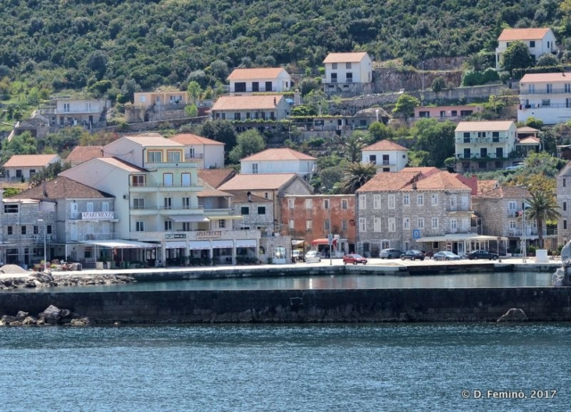 The town from the sea (Trpanj, Croatia, 2008)