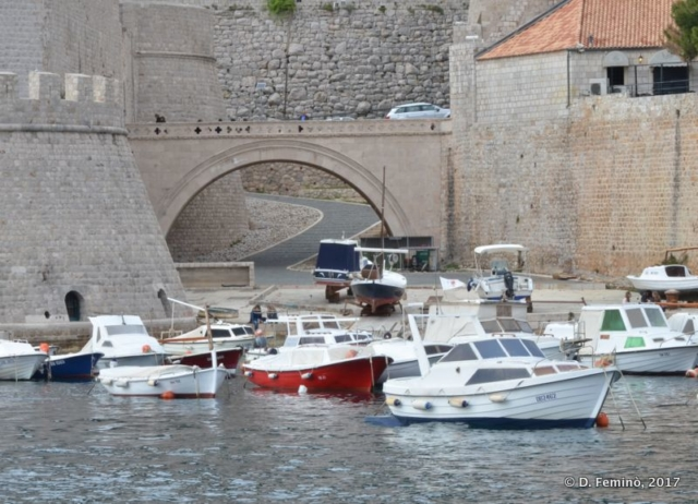 Old harbour (Dubrovnik, Croatia, 2017)