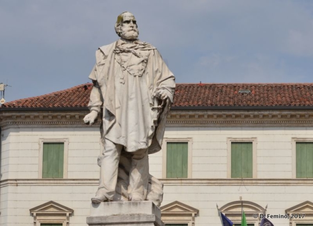 Garibaldi Statue (Vicenza, Italy, 2017)