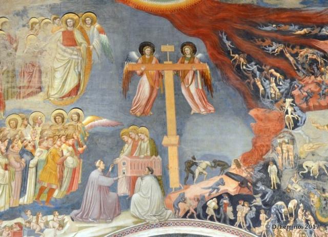 Detail in Scrovegni Chapel (Padova, 2017)