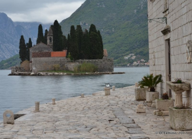 St. George from Our Lady of the Rocks (Perast, Montenegro, 2017)