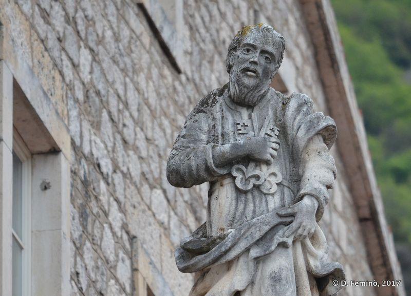 Statue of a Saint (Perast, Montenegro, 2017)