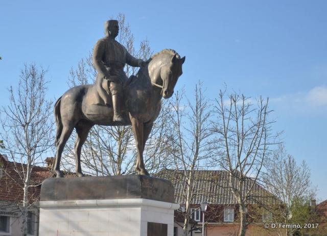 Statue of King Nikola I (Nikšić, Montenegro, 2017)