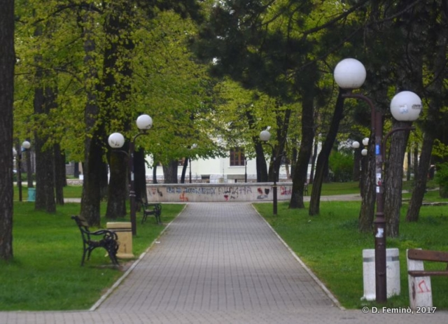 City park (Nikšić, Montenegro, 2017)