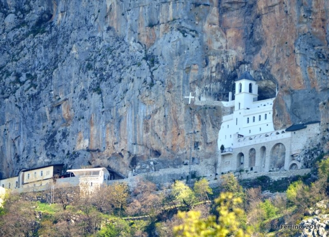 Upper monastery (Ostrog, Montenegro, 2017)