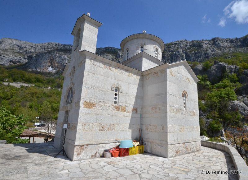Svetog Stanka's church (Ostrog, Montenegro, 2017)