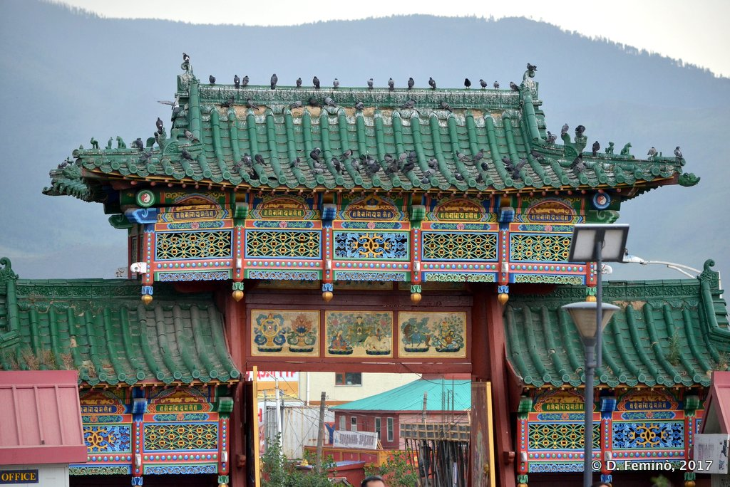 Gandan Khiid monastery, Ulaanbaatar