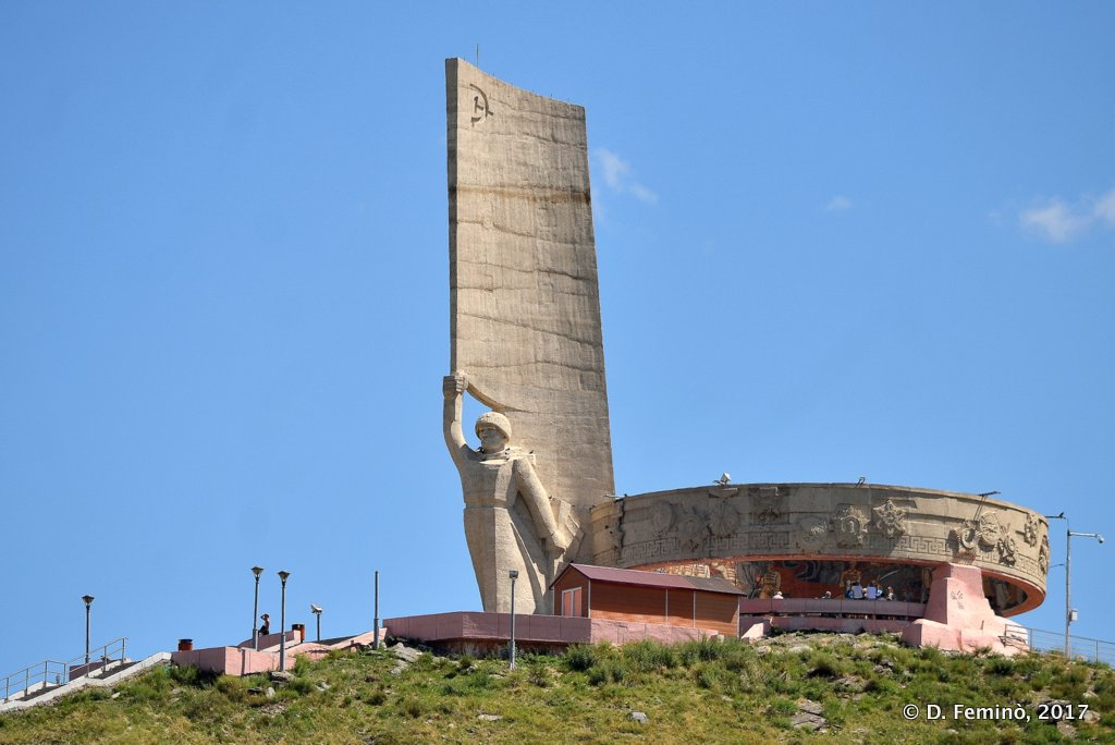 Zaisan Memorial, Ulaanbaatar