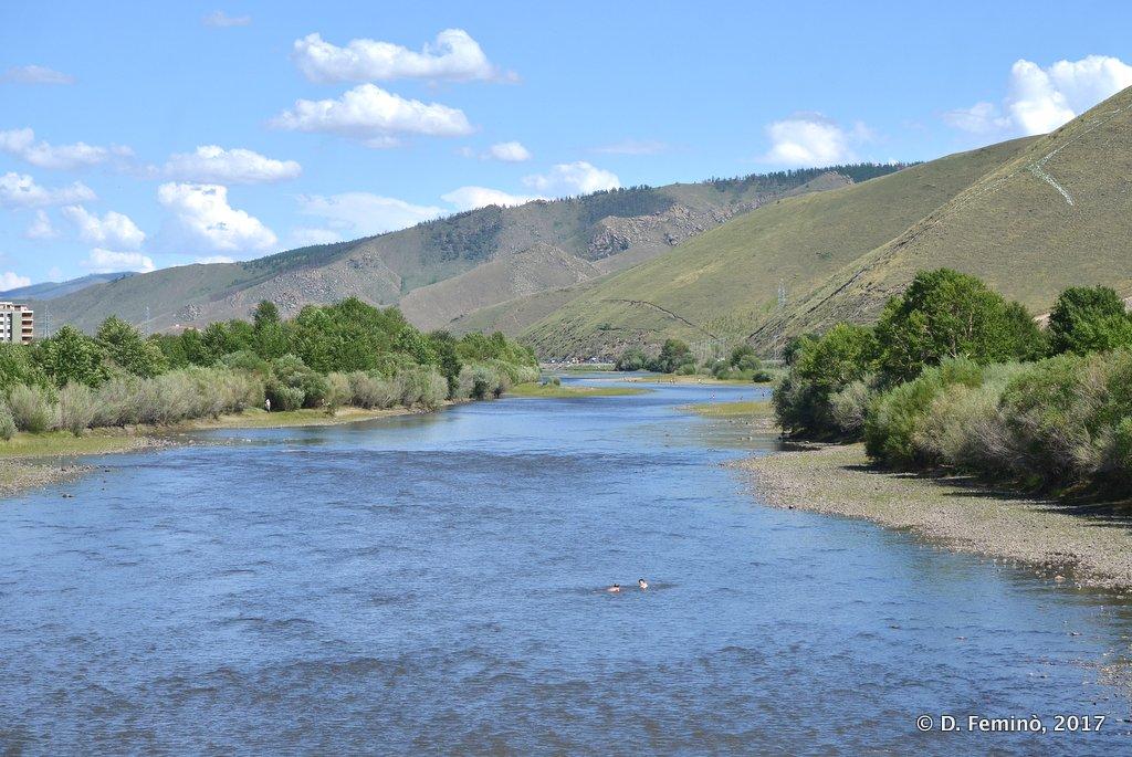 Tuul river, Ulaanbaatar