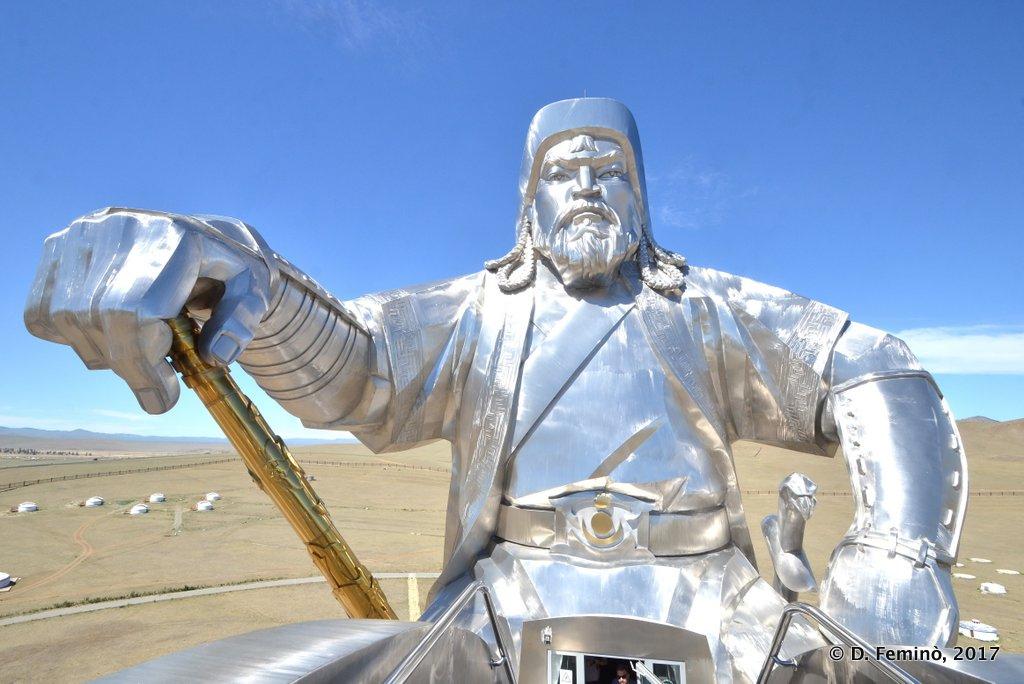 Face to face with Chinggis Khan, Terelj National Park