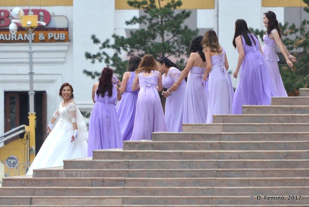 A very happy wedding, Ulaanbaatar
