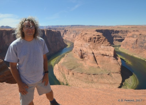 Me at the Horseshoe Bend, Colorado