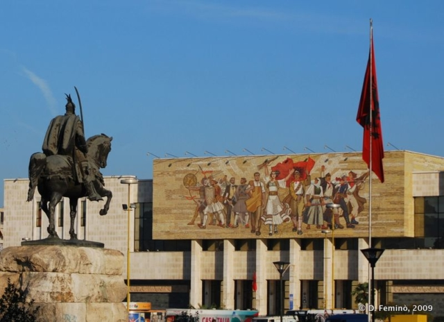 Skanderbeg square (Tirana, Albania, 2009)
