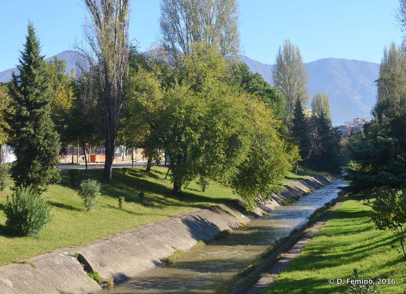 Lana river (Tirana, Albania, 2016)