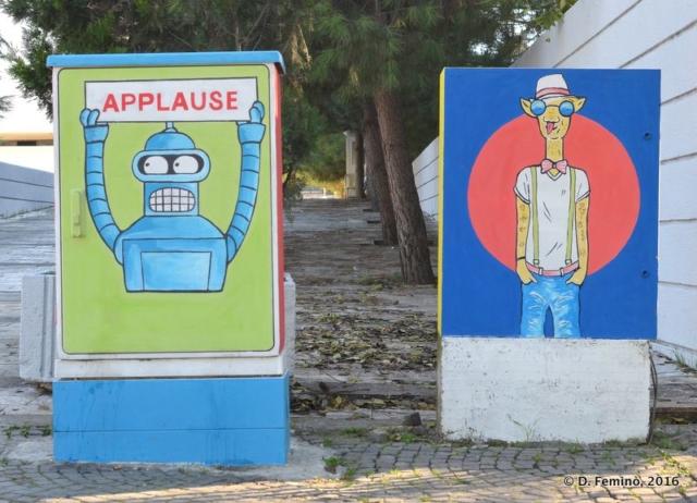 Funny murales (Tirana, Albania, 2016)