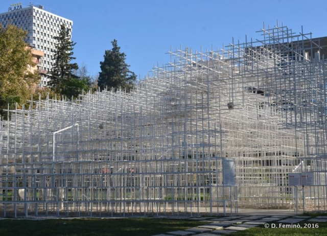 Fujimoto's Cloud Pavilion (Tirana, Albania, 2016)