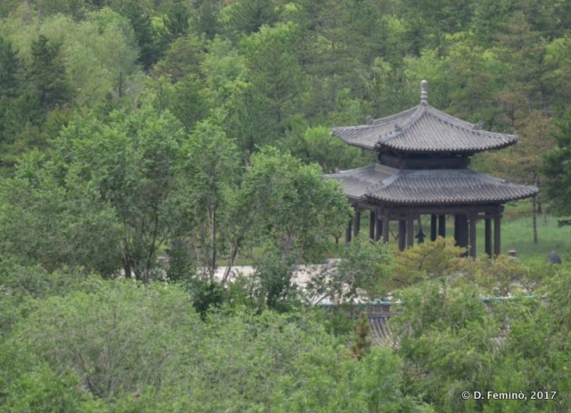 A small pavilion (Yungang, China, 2017)