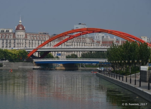 Jinzhong bridge (Tianjin, China, 2017)