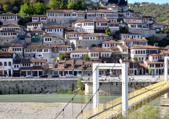 View of Berat