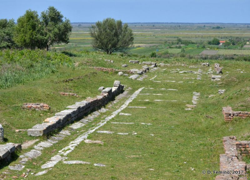 Roman foundations (Apollonia, Albania, 2017)