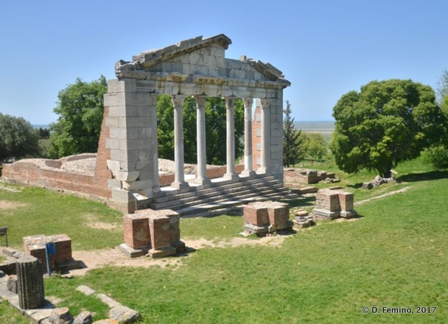 Temple of Apollo (Apollonia, Albania, 2017)