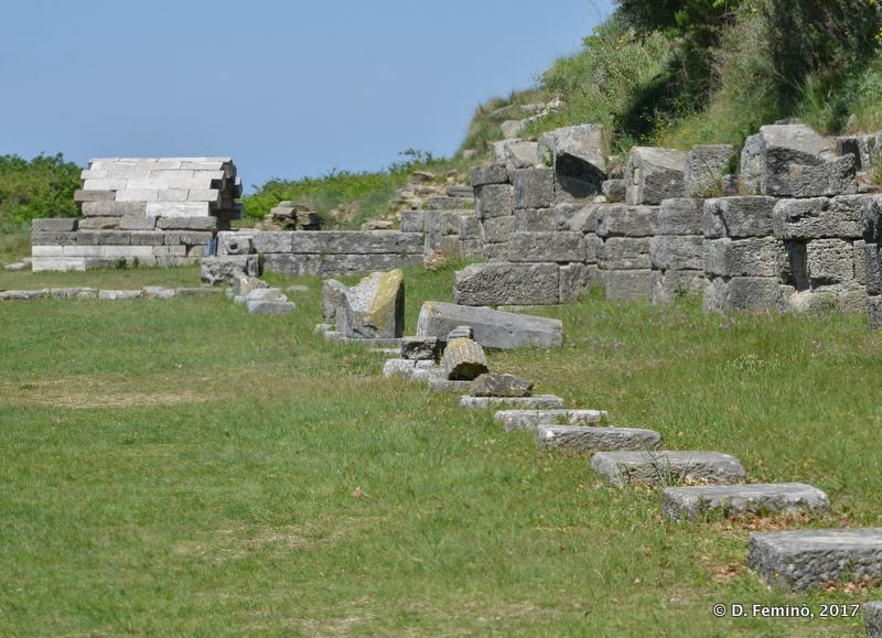 Roman remains (Apollonia, Albania, 2017)