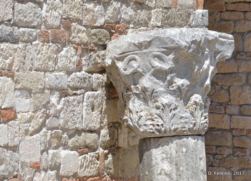 Corinthian column (Apollonia, Albania, 2017)