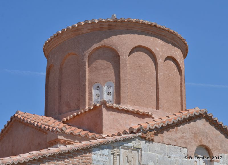 Dome of saint Mary church (Apollonia, Albania, 2017)
