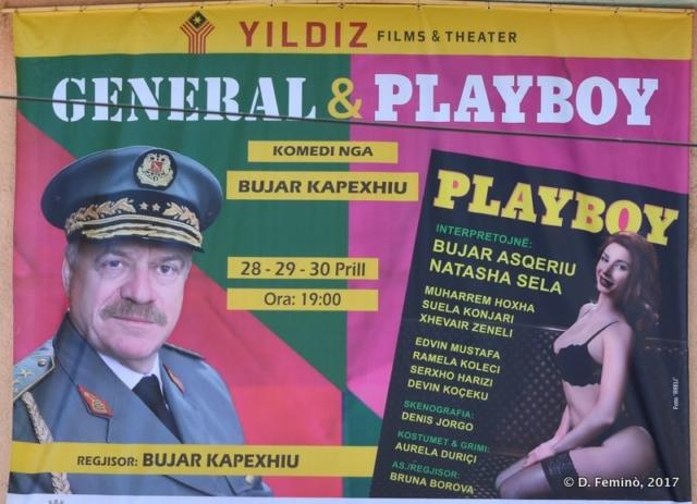Theatre playbill (Fier, Albania, 2017)