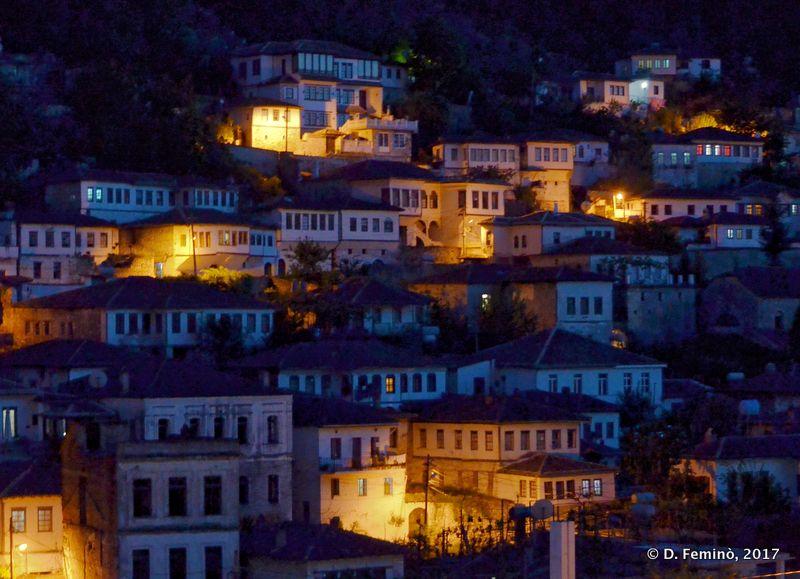 Town at night (Berat, Albania, 2017)