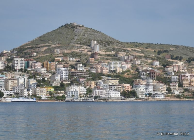 View of the town (Sarandë, Albania, 2017)
