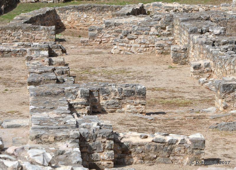 Roman foundations (Sarandë, Albania, 2017)
