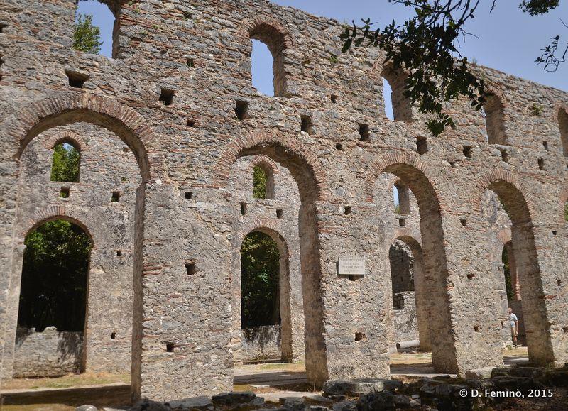 Basilica (Butrint, Albania, 2017)