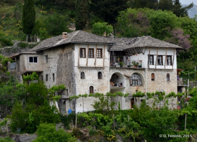 A noble mansion Gjirokastër, Albania, 2017)