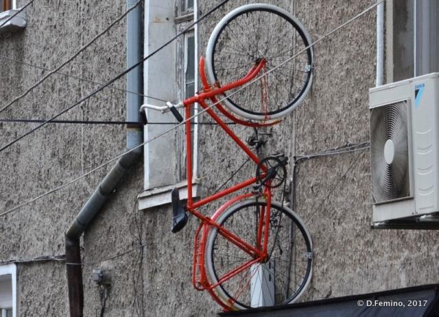 Bike against gravity (Burgas, Bulgaria, 2017)