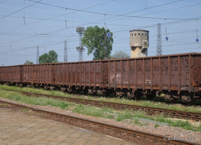 Freight train (Karnobat, Bulgaria, 2017)