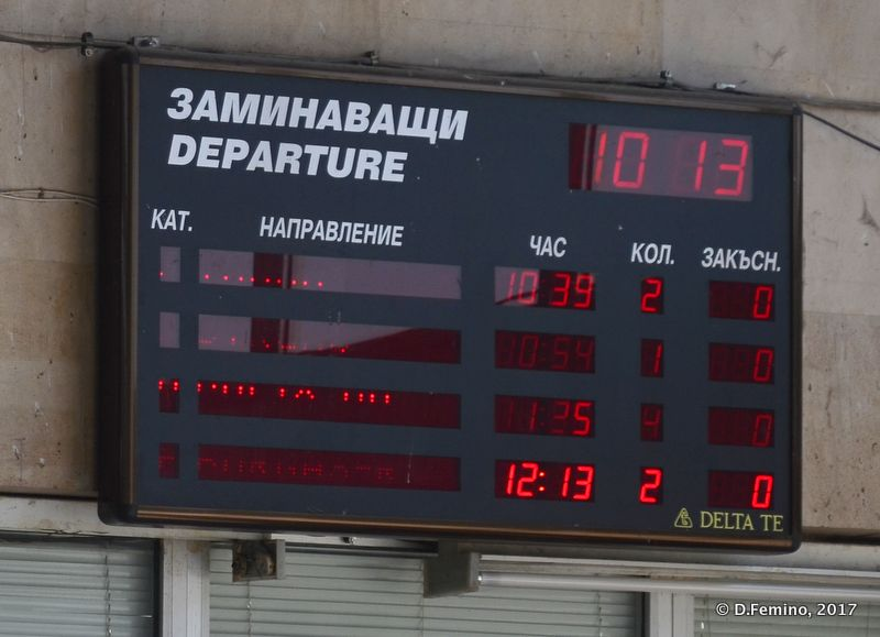 Electronic display (Karnobat, Bulgaria, 2017)