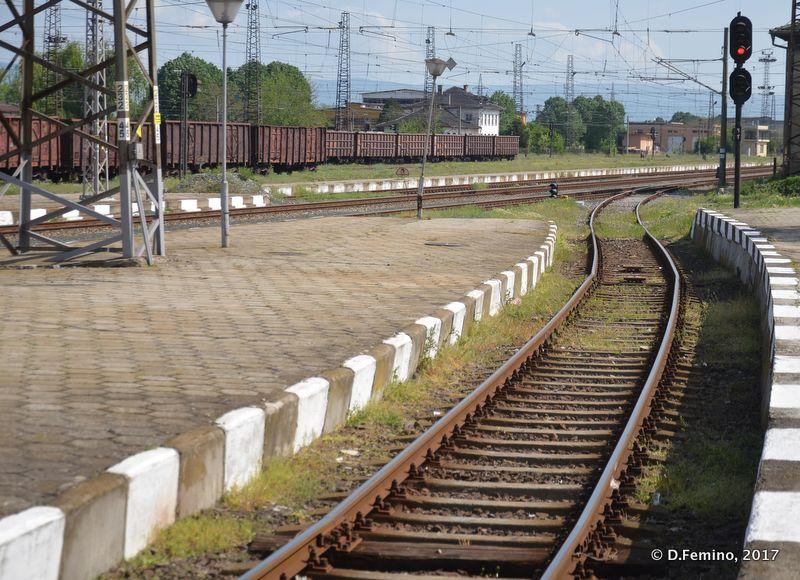 Railways (Karnobat, Bulgaria, 2017)