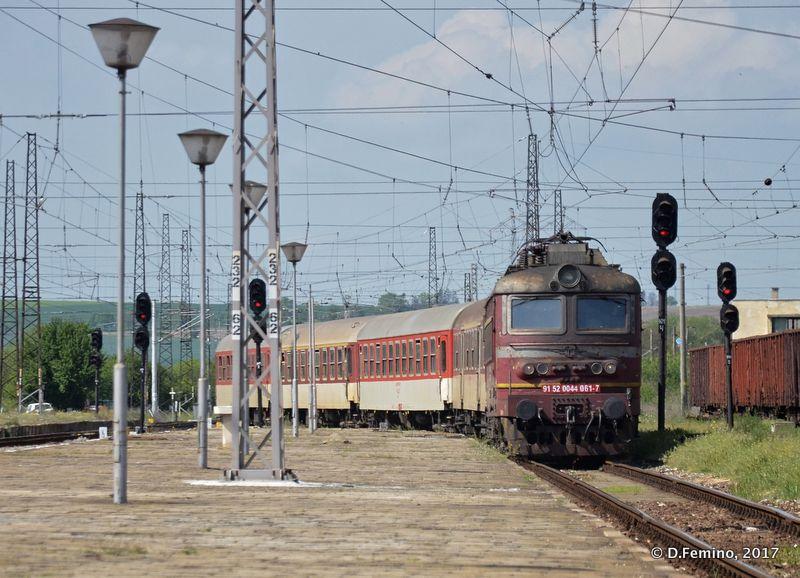 Train is coming (Karnobat, Bulgaria, 2017)