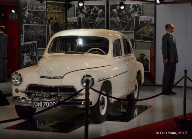 Warszawa car by FSO (Retro Museum, Varna, Bulgaria, 2017)