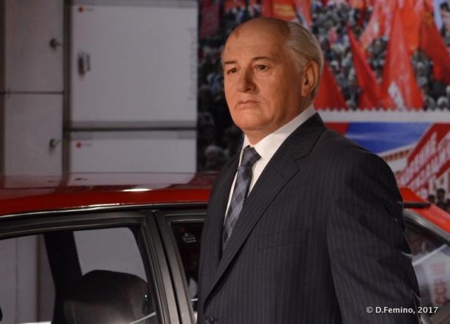 Michail Gorbaciov (Retro Museum, Varna, Bulgaria, 2017)