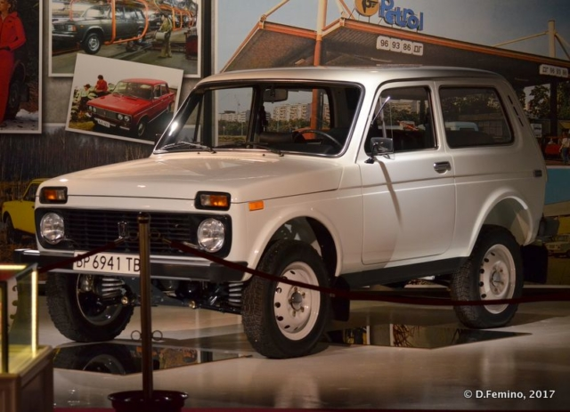 My favourite car:Lada (Retro Museum, Varna, Bulgaria, 2017)