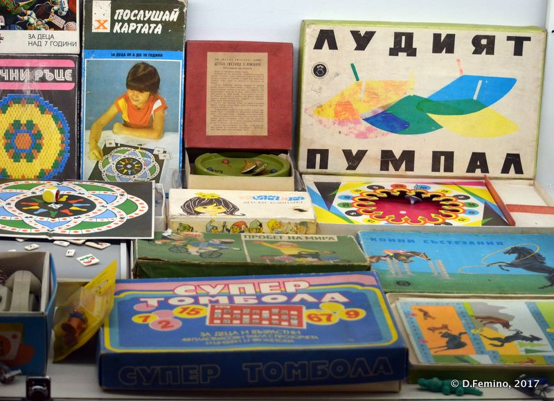 Games of Communist age (Retro Museum, Varna, Bulgaria, 2017)