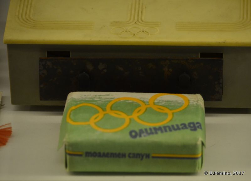 Olympic soap (Retro Museum, Varna, Bulgaria, 2017)