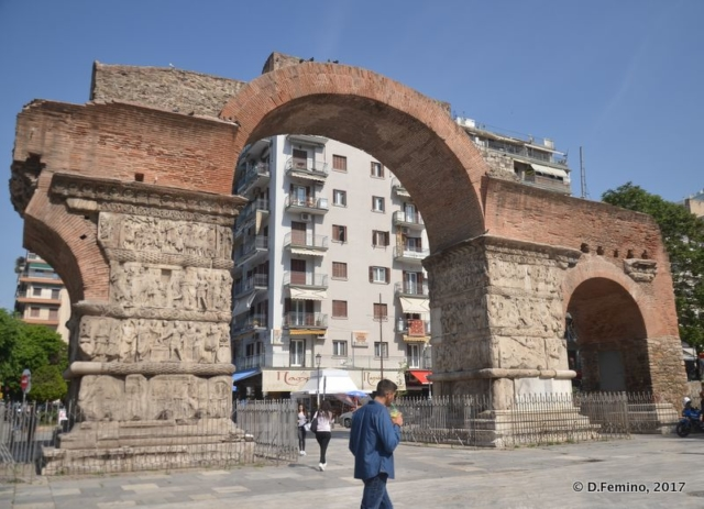 Galerius Arch (Thessaloniki, Greece, 2017)